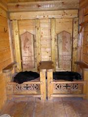 Storholmen (davidmcnuh) Tags: sweden chair throne viking museum openair openairmuseum village vikingvillage