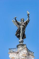 01-En haut de la colonne, le Génie de la Liberté (Alain COSTE) Tags: bordeaux gironde france fr