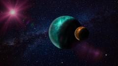 Cosmos (Iforce) Tags: cosmos universe wallpaper landscape art design digital colors nasa sky planet planets stars lights