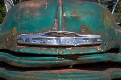 Old Chevrolet Front End (BP3811) Tags: 2018 antique august grangeville old pickup rusty trucks abandoned dented junk idaho