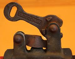 Air Valve (arbyreed) Tags: arbyreed rusty old vintage railroad unionpacificrailroad airvalve caboose train rust metal