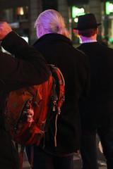Around the streets in NYC (Clara Ungaretti) Tags: night nightlights nightlight newyork newyorkcity novayork nyc ny manhattan estadosunidos estadosunidosdaamérica unitedstatesofamerica unitedstates us usa lights street streetlife streetphotography urban lifestyle onthestreets menswear menstyle people