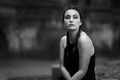 Yulia--7 (tag71) Tags: canon 5dmarkiii 85mmf12liiusm portrait femme girl woman sensuel sexy glamour mode modèle amateur extérieur lille lumièrenaturelle monochrome noiretblanc nb blackwhite bnw bokeh dof