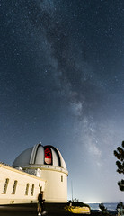 012-Lick Observatory Photo Night 2018_DSC2658_180908-NIKON D500-20 mm-211231-Pano (Staufhammer) Tags: lickobservatory ucolick mthamilton observatory photonight photographynight lick california stargazing milkyway astrophotography refractortelescope sunset galaxy nightscape nightlandscape
