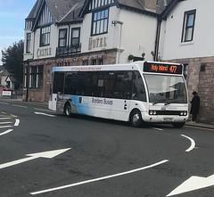 Borders Buses Optare Solo MX07NTU 10701 (Daniely buses) Tags: service477 wcm westcoastmotors 10701 mx07ntu optaresolo bordersbuses
