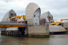 Thames Barrier Number 9 (zawtowers) Tags: jubilee greenway section 6 six saturday 8th september 2018 cloudy dry woolwichfoottunneltogreenwich amble stroll walking walk exploring london river thames path following urban exploration barrier protection flooding landmark iconic 9