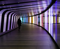 tube off color (Rudy Pilarski) Tags: nikon d7100 tamron thebestoffnikon thepassionphotography 2470 londre tube london angleterre england color couleur colour city ciudad capitale courbe urbain urban urbano architecture architectura structure street station reflet reflection kingcrossstation europe europa moderne