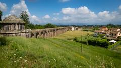 Aqueduct (ristoranta) Tags: canonpowershotsx60hs lucca maisema scenery aqueduct toscana