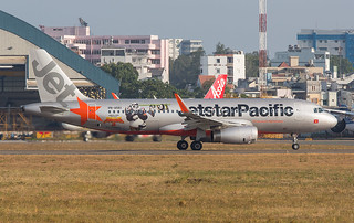VN-A561, Airbus A320-200 Jetstar Pacific @ Ho Chi Minh City SGN VVTS