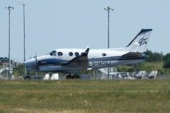 G-MOSJ (IndiaEcho Photography) Tags: gmosj beech king air egss stn london stansted airport airfield civil aircraft aeroplane aviation essex england canon eos 1000d
