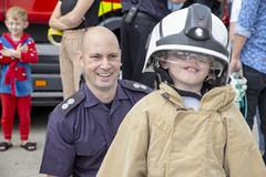 Byrnes visit to Tunbridge Wells Hospital (Kent Fire and Rescue Service) Tags: tunbridge wells woody elsa byrnes hospital partnership iain bradshaw community safety public