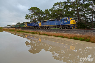 SSR Grain to Dimboola, 1GK1 with C505, C507, C506, C510 & RL306 + 100 wagons