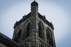 Paisley Abbey 2018-12 (henderson231280) Tags: paisley abbey cathedral church stone architecture old ancient religion gargoyle river scotland