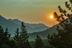 Sunrise (Beangrau12) Tags: sunrise mountains trees landscape rocky mountain national park colotrado tamron16300 nikon 3200