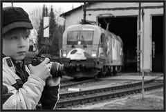 "Young Taurus Lover ("" Wiener Schule "") Tags: öbb oebb obb 1016 1116 taurus eisenbahn railway railroad foamer trainspotter austria"
