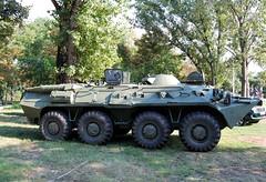 BTR-80 páncélozott szállító harcjármű (Péter_kekora.blogspot.com) Tags: budapest hungary 2018 august hdfhungariandefenceforces military magyarhonvédség orczypark