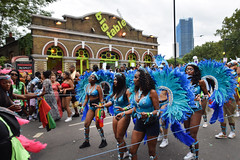 DSC_8158 (photographer695) Tags: notting hill caribbean carnival london exotic colourful costume girls dancing showgirl performers aug 27 2018 stunning ladies