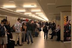 063 -1vib (citatus) Tags: line up passengers union station boarding via rail train toronto london windsor ontario canada summer afternoon 2018 pentax k3 ii