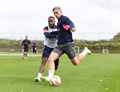 Arsenal Training Session and Press Conference (Stuart MacFarlane) Tags: sport soccer clubsoccer stalbans england unitedkingdom gbr