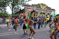 DSC_8324 (photographer695) Tags: notting hill caribbean carnival london exotic colourful costume girls dancing showgirl performers aug 27 2018 stunning ladies