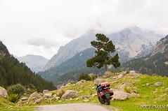 PIRINEOS (DOCESMAN) Tags: pirineos pyrenees moto motorcycle bike honda deauville nt700v montaña mounatin labesurta landscape paisaje mountain