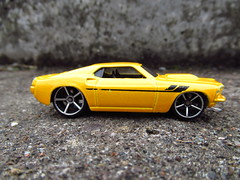 HOTWHEELS. 1969 FORD MUSTANG (MAJOR FORDSON) Tags: diecast hotwheels ford fordmustang