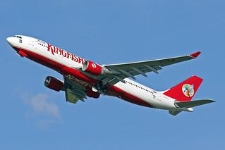 Kingfisher Airbus A330-223 F-WWKA (VT-VJK) TLS 19-05-08