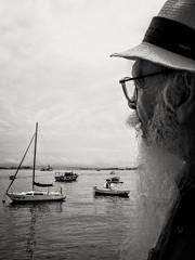 descansar a vista (luyunes) Tags: urca barco barcos veleiro pretoebranco vida paisagem franciscogregorio olhar cena cenário mobilephoto mobilephotographie streetscene boat view landscape motozplay luciayunes