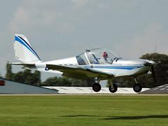 G-LBAC Evektor EV-97 TeamEuroStar UK (johnyates2011) Tags: sywell laarallysywell2017 laarally2017 evektorev97 evektor ev97 glbac teameurostaruk