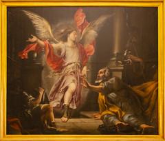 Seville Cathedral - San Pedro liberado por el Angel (DaveGray) Tags: canoneos70d seville sevilla churches chapels cathedrals santaigrejacatedraldesevilla sanpedroliberadoporelangel juandevaldésleal16221690 saintpeterreleasedbyanangel 16571659 painting angel stpeter