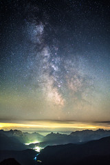 Mittenwald Milky Way (redfurwolf) Tags: milkyway alps mittenwald germany bayern bavaria stacking sequator mountains sky stars clouds valley outdoor landscape nature night nightsky nightphotography redfurwolf sonyalpha sony a7rm3 sel35f14z bealpha herzogstand