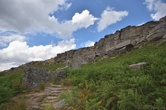 Path to Stanage Edge (Bri_J) Tags: stanageedge peakdistrict nationalpark hathersage derbyshire uk countryside hdr nikon d7200 path rocks hill sky clouds