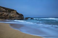 Montara Beach (CraDorPhoto) Tags: canon5dsr landscape beach sand longexposure sky blue water ocean pacific outdoors nature california