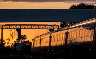 Golden hour at Kilby Bridge