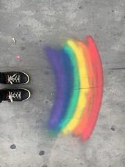 Peace (Fandala Färds) Tags: friede bunt graffiti streetart rainbow regenbogen ✌️ peace