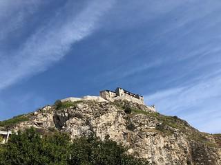 Plus c'est haut plus c'est beau... Château de Valère Sion