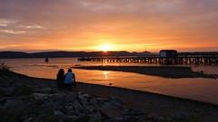Hudson River Sunset-Ossining, New York (Camera and Trail) Tags: canonm50 ossiningnewyork hudsonriver sunset