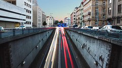 City Lights (Bulda9) Tags: hdr cars city europe glow lights night sunset traaffic traffic marc photography street travel prag prague czech junction