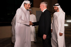 Mattis Travels to United Arab Emirates (Secretary of Defense) Tags: ussecretaryofdefensejamesnmattis jimmattis aldhafraairbase unitedarabemirates crownprinceofabudhabi mohammedbinzayedalnahyan