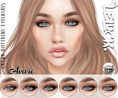[LeLuck]Catwa Different Eyelashes (Sunkora) Tags: secondlife photpshop catwa applier eyelashes different suicidedollz event new meshhead lona