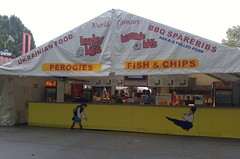 PNE Hunky Bill's Van18h25 LG (CanadaGood) Tags: canada bc britishcolumbia vancouver people person food vendor sign pne fair canadagood 2018 thisdecade color colour cameraphone