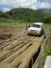 Bridge crossing - river malema