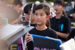 wind orchestra girl #14 (kasa51) Tags: schoolgirl windorchestra summerfestival portrait ブラバン少女 people street