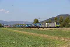 BLS Re 485 014 + 486 504 Sissach (daveymills37886) Tags: bls re 485 014 486 504 sissach baureihe cargo traxx