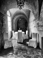 Chateau de la Barben (delphine imbert) Tags: bouchesdurhône chateau de la barben journée patrimoine monument historique pierres salles privé chambres dhôtes noir blanc black white monochrome visite musée