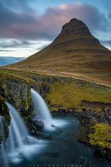 Kirkjufell, Snæfellsnes, Iceland (Fabien Guittard) Tags: voyage paysage automne montagne cascade nature fall landscape mountain travel waterfall snæfellsnes islande is