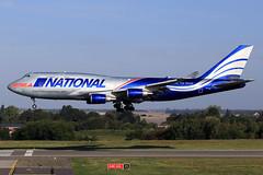 National Airlines  Boeing 747-428(BCF)    N919CA (widebodies) Tags: liege lüttich lgg eblg widebody widebodies plane aircraft flughafen airport flugzeug flugzeugbilder national airlines boeing 747428bcf n919ca