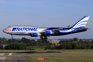 National Airlines  Boeing 747-428(BCF)    N919CA
