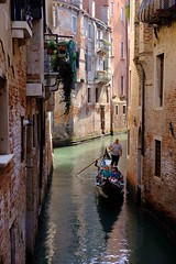 Calm waters (HonleyA) Tags: venice italy gondola fuji fujifilm xpro2 travel canal