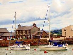 Porthmadog, Gwynedd, Wales  [Explored] (photphobia) Tags: porthmadog gwynedd wales uk greatbritain oldwivestale coastaltown historic outside outdoor port harbour haven marina